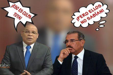 Marino Zapete Critica La Nueva Prórroga De Danilo Medina Y La Justificación Del Por Que Aún Faltan Funcionarios Por Su Declaración