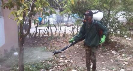 Obras Públicas Realiza Jornada De Fumigación Con El Zika