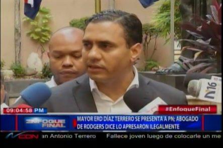Abogados Del Mayor Del Ejército Rodgers Lo Desvinculan De Dar Armas A La Banda De Percival Matos