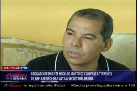 Abogado Desmiente Hijo De Leo Martínez Comprara Terrenos Del Matador