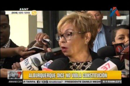 Lila Alburquerque Dice Que No Esta Violando La Constitución Y Ya No Es Embajadora