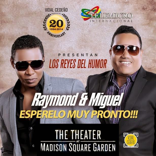 Raymond y Miguel al Madison Square Garden de NY