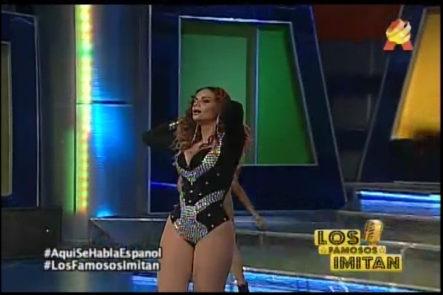 Arlin Rodríguez Imita A Beyoncé En Aqui Se Habla Español