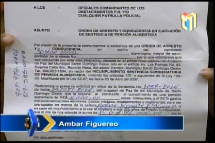 ¡ATENCIÓN AL SUJETO! Ambar Figuereo dice tener un hijo con el Sujeto quien no cumple con su pensión desde hace 2 años