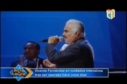 Vicente Fernández Se Encuentra En Cuidados Intensivos
