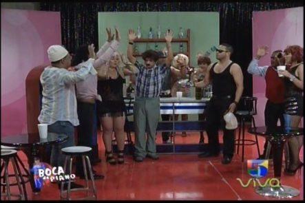 Un Asalto Fuera De Lo Normal En La Barra De Boca De Piano Es Un Show