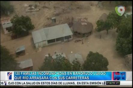 En Bahoruco 120 Familias Se Encuentran Incomunicadas Luego De Que Río Arrasara Con Sus Carreteras
