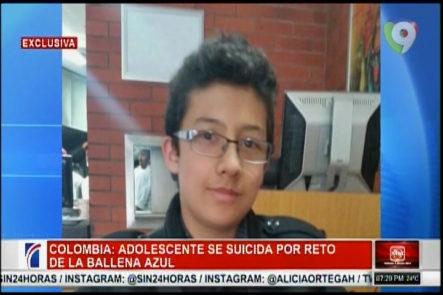 """En Colombia Un Adolescente Se Suicida Por El Reto De """"La Ballena Azul"""""""