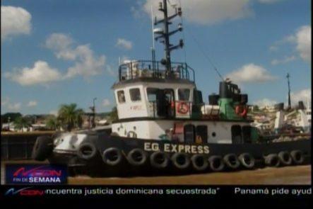Autoridad Portuaria Continúa Con El Retiro De Embarcaciones De Ríos Ozama E Isabela