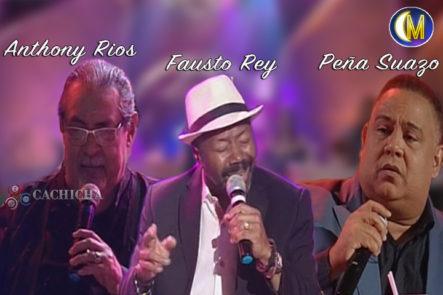 Conversando Con Tres Grandes Del Bolero: Anthony Rios, Peña Suazo Y Fausto Rey En El Bar De Esta Noche Mariasela