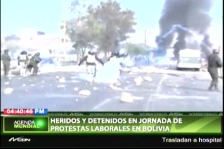 Varios Heridos Y Detenidos En Jornada De Protestas En Bolivia
