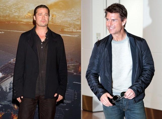 Brad Pitt y Tom Cruise, juntos otra vez