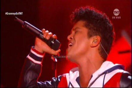 Presentación De Bruno Mars En Los Grammys