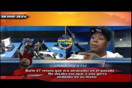 Bulin 47 Revela Que Era Atracador En El Pasado, No Dejaba Escapar Una Gorra