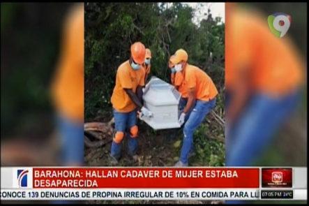 ¡IMÁGENES EXPLICITAS! En Barahona Fue Encontrado El Cadáver De Una Mujer Que Fue Arrastrado Por Un Río