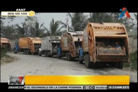 Continúan Camiones Varados Y Los Conflictos En Vertedero De Duquesa