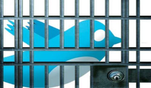 Cinco años de cárcel por insultar en Twitter