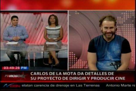 Entrevista exclusiva a Carlos de La Mota en Famosos Inside