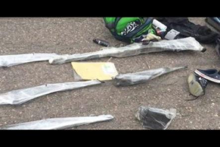 Autoridades de México decomisan armas, vehículo y USD$35K supuestamente destinados a los hijos de El Chapo