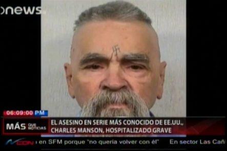 El Asesino En Serie Más Conocido De EE.UU. Charles Manson Es Hospitalizado De Gravedad