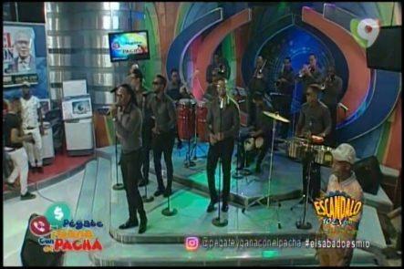 Presentación De Chiquito Team Band En Pegate Y Gana Con El Pachá