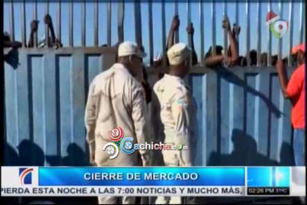 Cierran Puertas Del Mercado Fronterizo Y Aumentan La Seguridad Por Protestas Al Otro Lado De La Frontera #Video