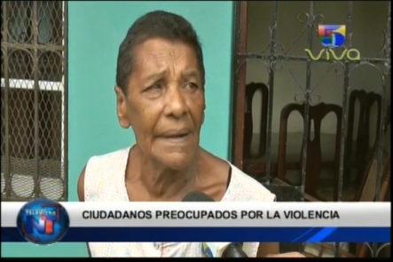 Ciudadanos Atemorizados Por Distintos Hechos Delictivos Ocurridos En República Dominicana