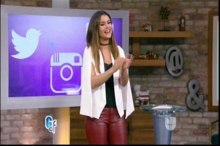 Clarissa Molina Presenta Las Noticias Más Calientes De Las Redes Sociales