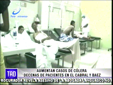 Aumentan Casos De Cólera Decenas De Pacientes En El Cabral Y Báez #Video