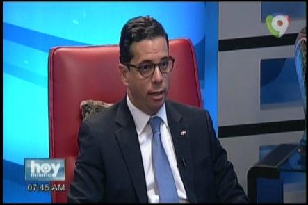 Entrevista A Cesar Dargam, Director De Comercio Exterior Por Dani Alcantara