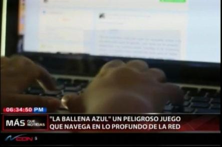 """""""La Ballena Azul"""" Un Peligroso Juego Que Navega En Lo Profundo De La Red"""