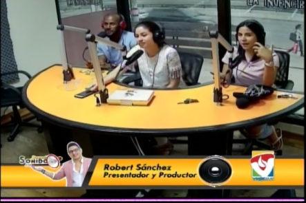 Denise Peña Presenta Las Noticias Más Pendejas En La Cabina De Buscando Sonido
