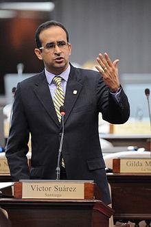 diputado Víctor Suárez
