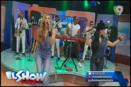 Presentación De Divas By Jiménez En El Show Del Mediodía