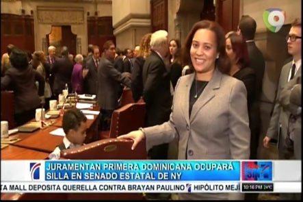 Es Juramentada La Primera Dominicana Que Ocupará Una Silla En El Senado Estatal De NY
