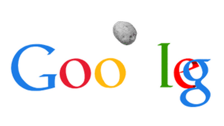 Hasta Google sufre con el asteroide y lo elude