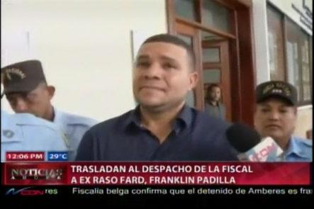 """Ex Raso Acusado De La Muerte De Delcy Yaport: """"A Dios Que Me Ayude"""""""