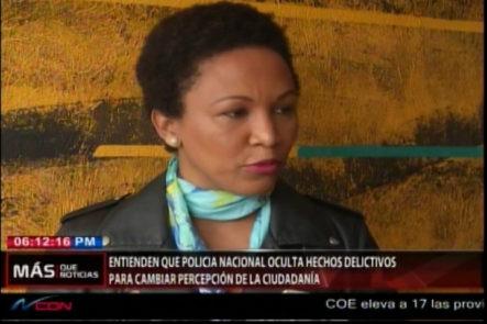 Periodistas Y Directores De Medios Sostienen Que La PN Oculta Hechos Delictivos Para Cambiar La Percepción De La Ciudadanía