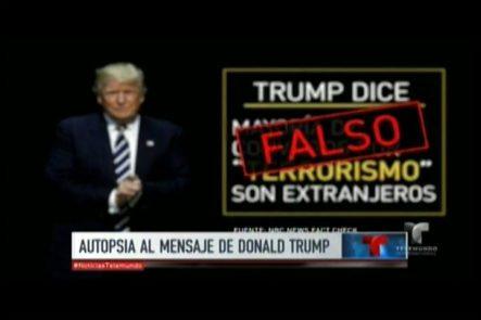 Autopsia Al Primer Discurso De Donald Trump