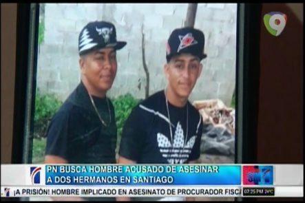 La Policía Busca A El Gordo, Por Asesinar A Dos Hermanos Y Herir A Otro En Santiago