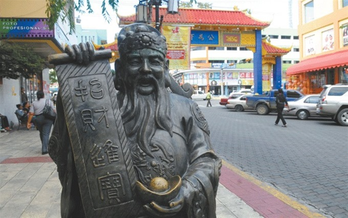 estatua china