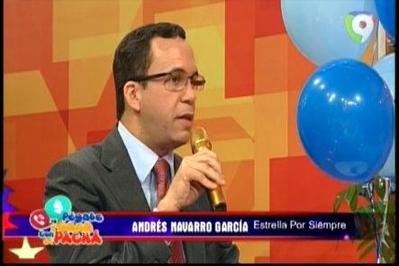 Merecido Reconocimiento Al Lic. Andrés Navarro La Estrella Por Siempre De Pégate Y Gana Con El Pachá