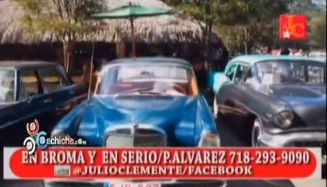 exibicion de carros antiguos