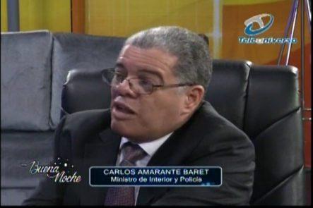 Nelson Javier Entrevista Al Ministro De Interior Y Policía, Y Le Pregunta Por La Inseguridad Que Vive El País