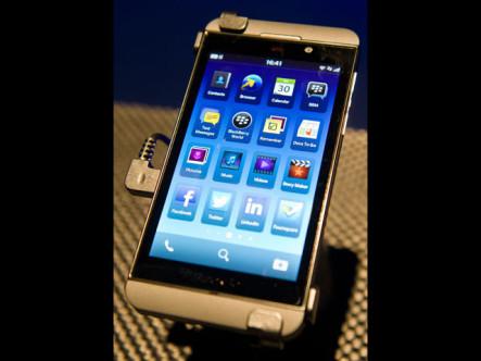 Z10, la esperanza táctil de BlackBerry
