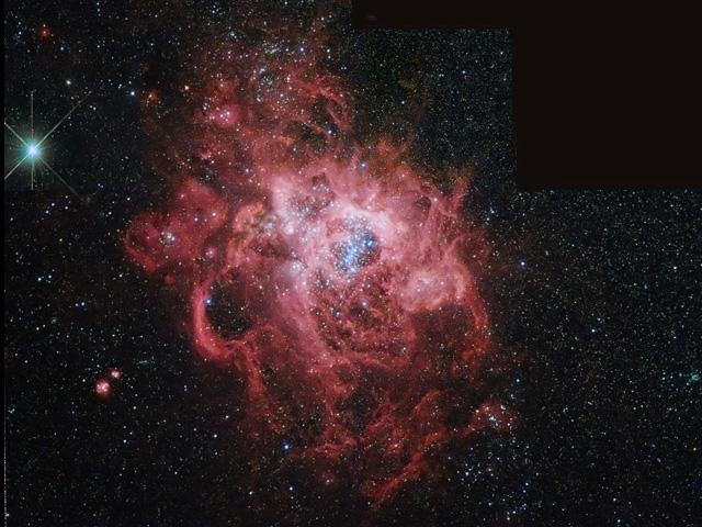 NGC 604: La guardería estelar gigante