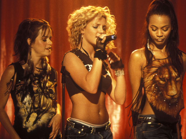 Zoe interpretó a Kit, una de las mejores amigas de Lucy (Britney Spears).