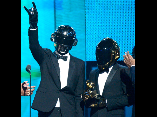 El dueto se llevó el grammy a mejor dúo por´Get lucky´ con Pharrell Williams y Mejor Disco del Año por Random Access Memories, entre otros.