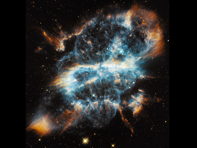NGC 5189, una inusual nebulosa compleja