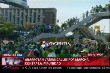 Abarrotan Varias Calles Por La Marcha Contra La Impunidad